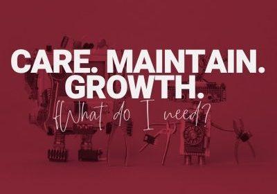 care maintain grow