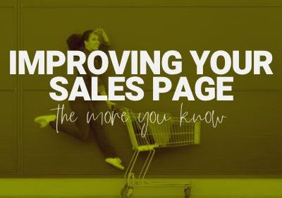 improving sales page