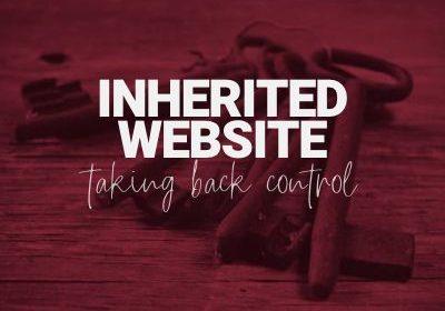inherited website