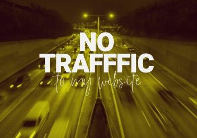 not getting traffic to your website