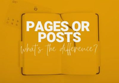 page and posts