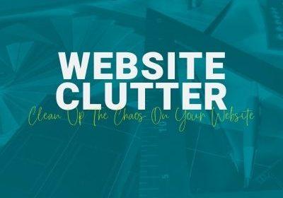 website clutter social